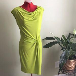 Michael Kors Lime Green Sleeveless Dress Sz S